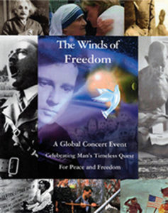 Cover image of Winds of Freedom debut concert at Carnegie Hall, New York City, on May 11, 1991.
