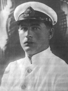 Leo Ayzin in his Dress Whites, 1930s, before World War Two changed the world.