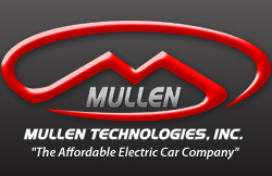 "Logo image of Mullen Technologies Inc., ""The Affordable Electric Car Company,"" a partner with Winds of Freedom Foundation"